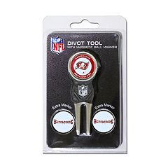 Team Golf Tampa Bay Buccaneers 4 pc Divot Tool & Ball Marker Set