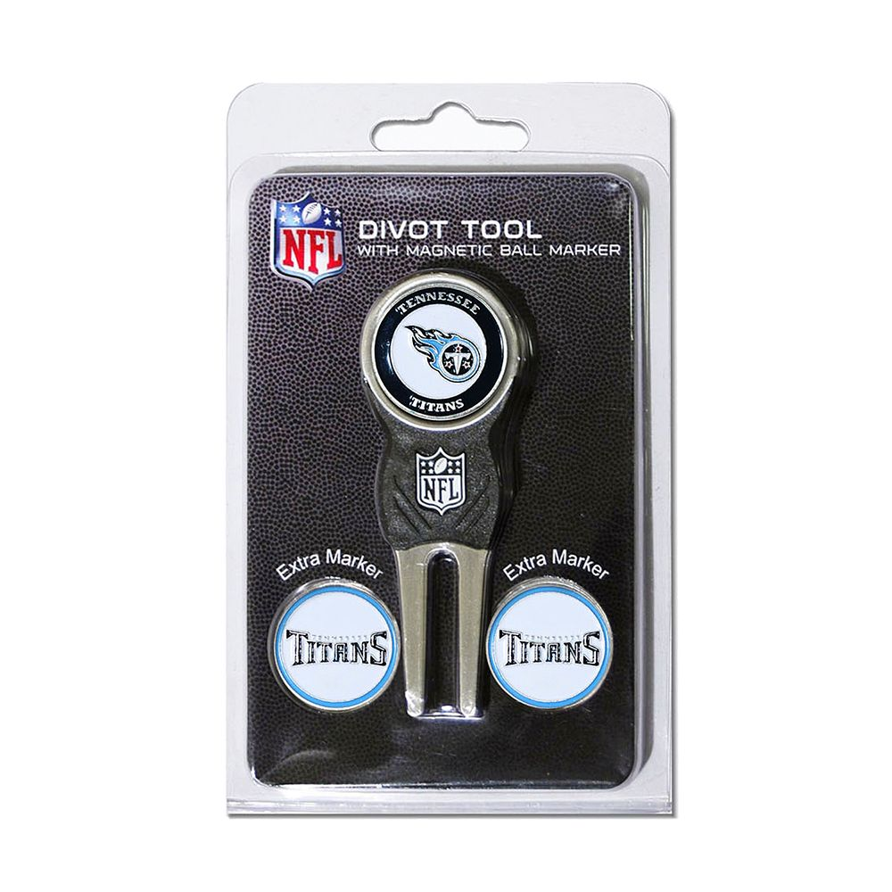 Team Golf Tennessee Titans 4-pc. Divot Tool & Ball Marker Set
