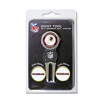 Team Golf Washington Redskins 4 pc Divot Tool & Ball Marker Set