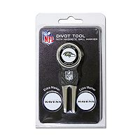 Team Golf Baltimore Ravens 4 pc Divot Tool & Ball Marker Set