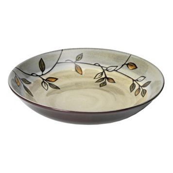Pfaltzgraff Everyday Rustic Leaves Pasta Bowl