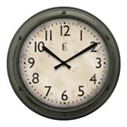 Geneva Clock 12-in. Round Wall Clock