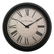 Geneva Clock 13.8-in. Round Wall Clock