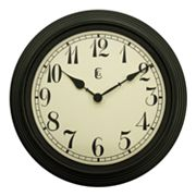 Geneva Clock 15-in. Round Wall Clock