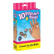 Creativity for Kids Pop-Art Rings