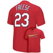 Majestic St. Louis Cardinals David Freese Tee - Big and Tall