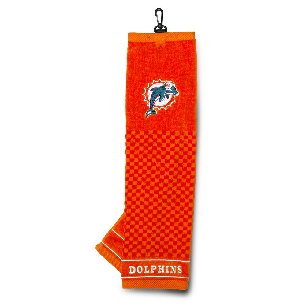 Team Golf Miami Dolphins Embroidered Towel