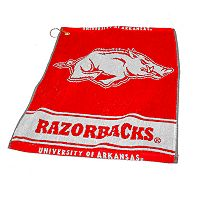 Team Golf Arkansas Razorbacks Woven Towel