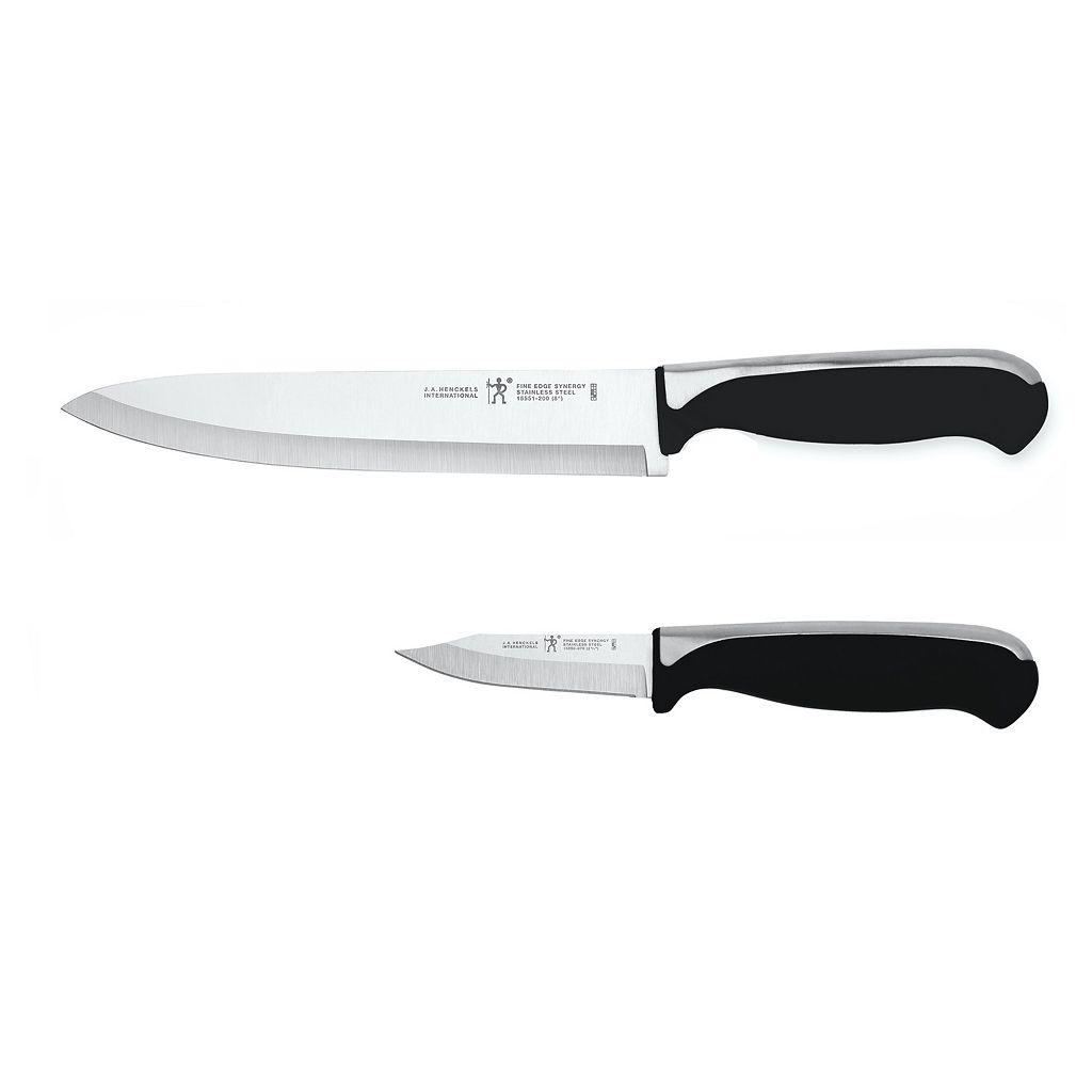J.A. Henckels International Fine Edge Synergy 2-pc. Chef's Knife Set