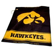 Team Golf Iowa Hawkeyes Woven Towel
