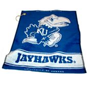 Team Golf Kansas Jayhawks Woven Towel