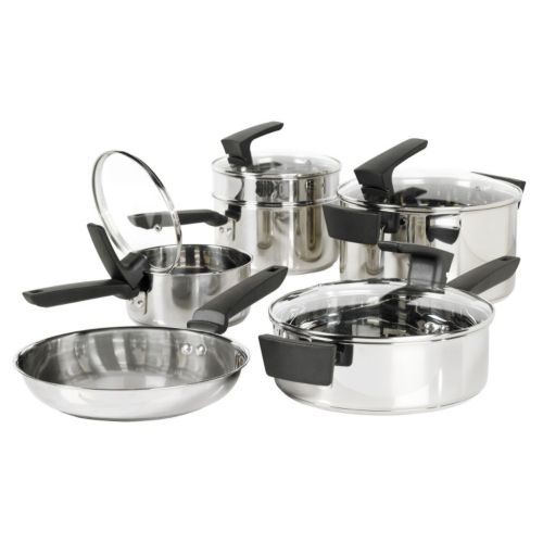 Philippe Richard 10-pc. Stainless Steel Cookware Set
