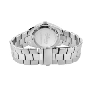 Disney's Mickey Mouse Silhouette Men's Stainless Steel Watch