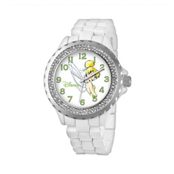 Disney's Tinker Bell Women's Crystal Watch