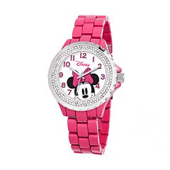 Disney's Minnie Mouse Peekaboo Women's Crystal Watch