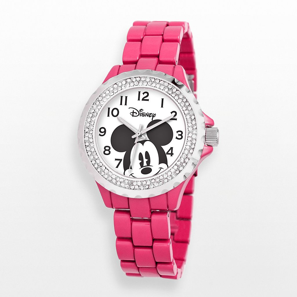 Disney's Mickey Mouse Women's Crystal Watch