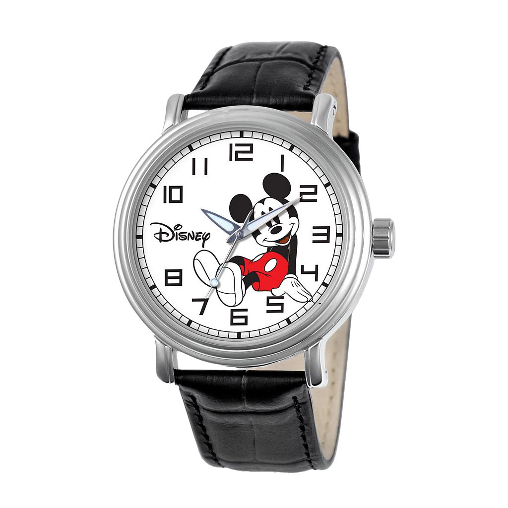 Disney Mickey Mouse Women's Leather Watch