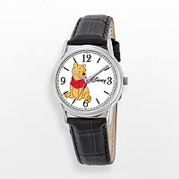 Disney's Winnie the Pooh Men's Leather Watch