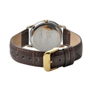 Disney's Mickey Mouse Men's Two Tone Leather Watch
