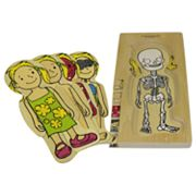 Discoveroo 5-Layer Girl Body Puzzle
