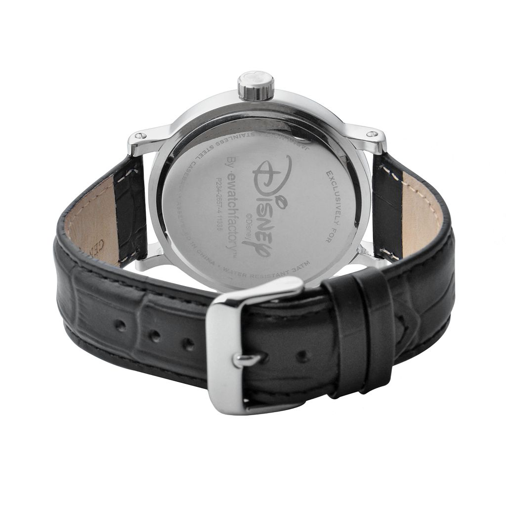 Disney's Mickey Mouse Men's Leather Watch
