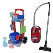 Theo Klein Cleaning Trolley and Miele Vacuum Set