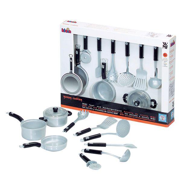 Wmf 9 Pc Pots Kitchen Set By Theo Klein