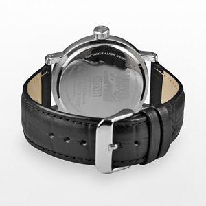 Marvel Spider-Man Men's Leather Watch