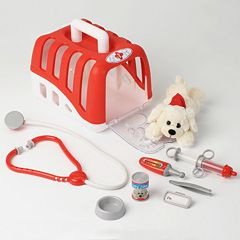 Theo Klein Vet Transport Dog Crate