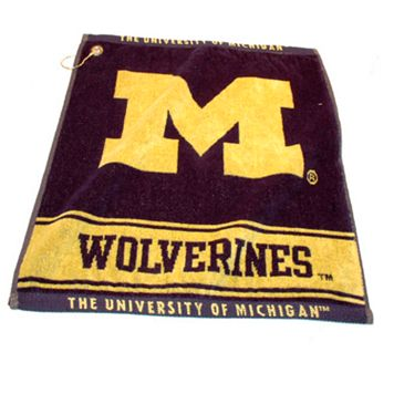 Team Golf Michigan Wolverines Woven Towel