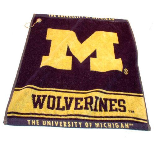 Team Golf Michigan Wolverines Woven Towel