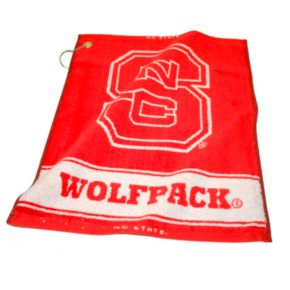 Team Golf NC State Wolfpack Woven Towel