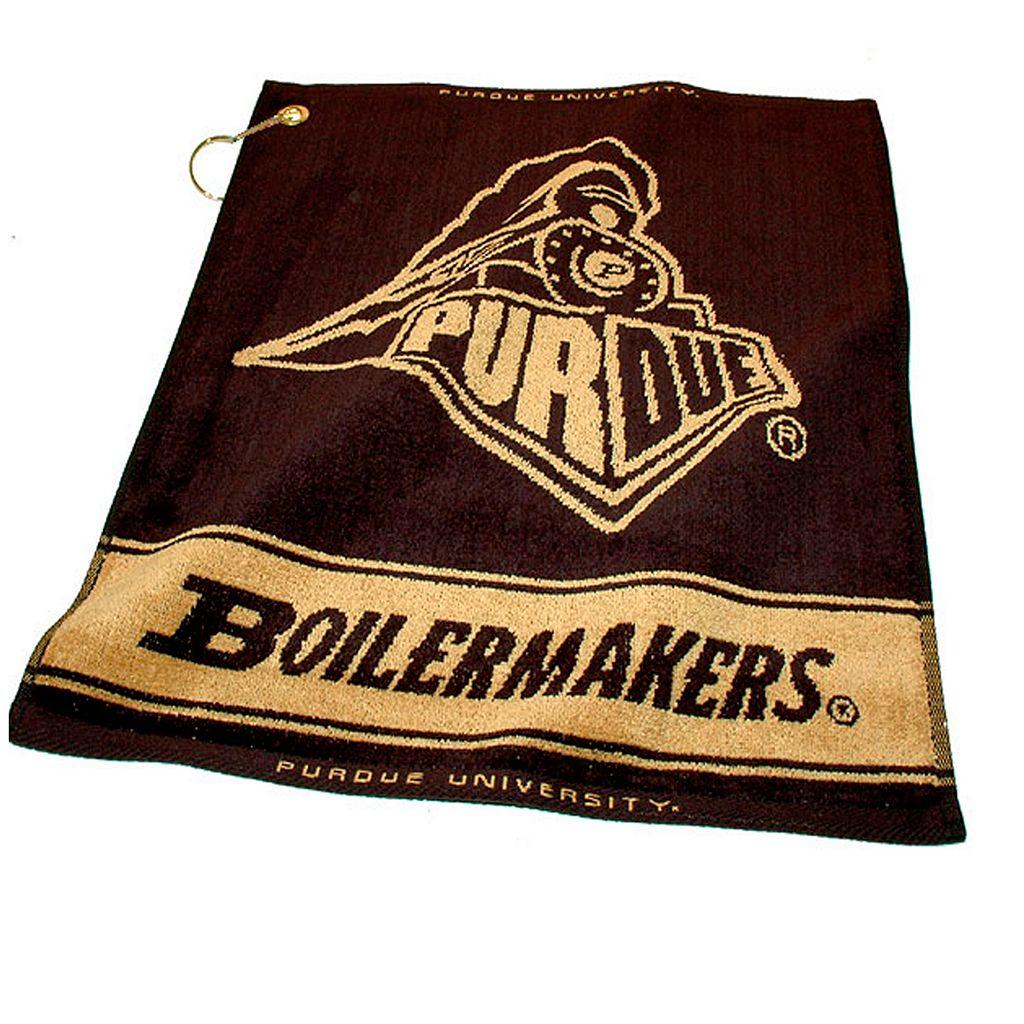 Team Golf Purdue Boilermakers Woven Towel