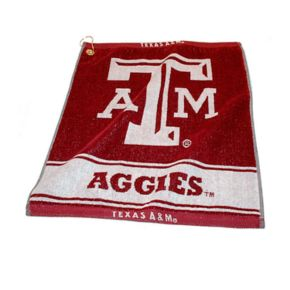 Team Golf Texas A and M Aggies Woven Towel