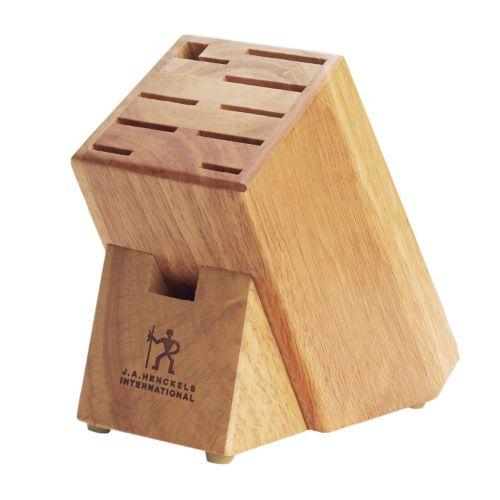 J.A. Henckels International Hardwood Knife Block