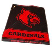Team Golf Louisville Cardinals Woven Towel