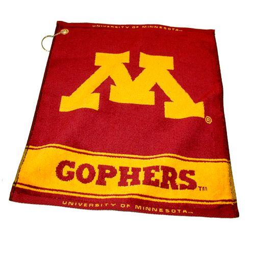 Team Golf Minnesota Golden Gophers Woven Towel
