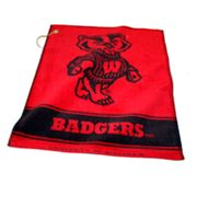 Team Golf Wisconsin Badgers Woven Towel