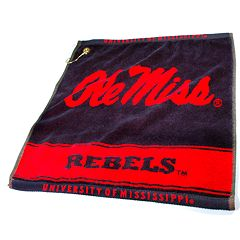 Team Golf Ole Miss Rebels Woven Towel