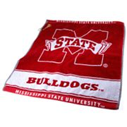 Team Golf Mississippi State Bulldogs Woven Towel