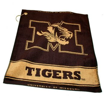 Team Golf Missouri Tigers Woven Towel