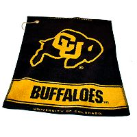 Team Golf Colorado Buffaloes Woven Towel