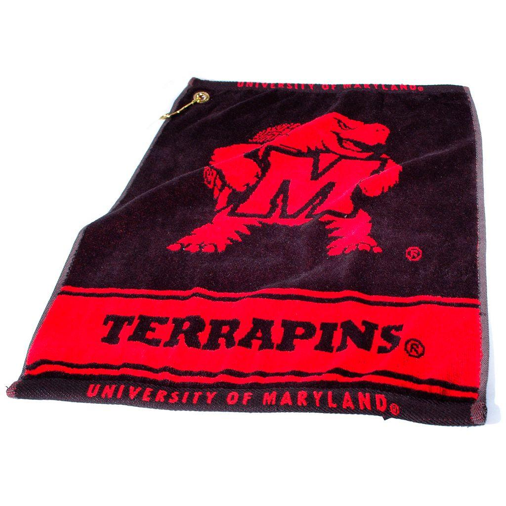 Team Golf Maryland Terrapins Woven Towel