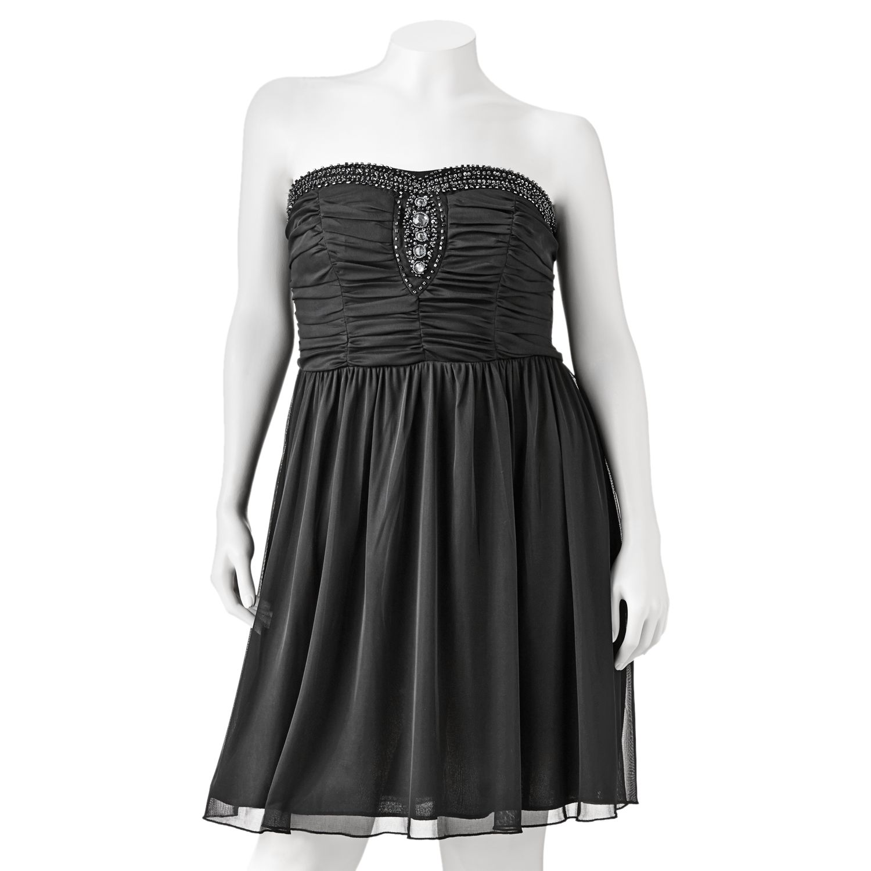 Kohls Dresses For Weddings 40 Good Trixxi Bead Strapless Dress