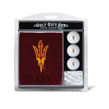 Team Golf Arizona State Sun Devils Embroidered Towel Gift Set