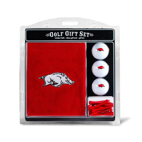 Team Golf Arkansas Razorbacks Embroidered Towel Gift Set