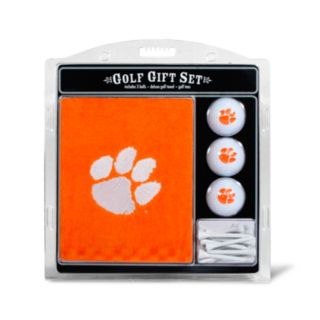 Team Golf Clemson Tigers Embroidered Towel Gift Set