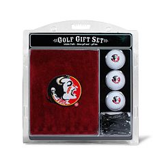 Team Golf Florida State Seminoles Embroidered Towel Gift Set
