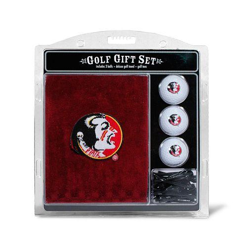 Team Golf Florida State Seminoles Embroidered Towel Gift Set