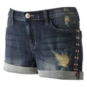 Rock and Republic Bumbershoot Embellished Denim Shorts